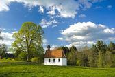 Landscape in bavaria — Stock Photo