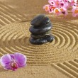 Japanese zen garden — Stock Photo #27251345