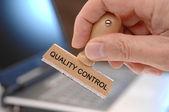 Quality control — Stock Photo