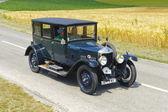 Oldtimer car rally — Foto de Stock