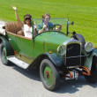 Stock Photo: Oldtimer car rally