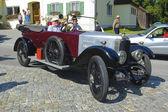 Rally de carro Oldtimer — Fotografia Stock