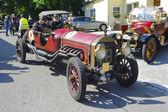 Oldtimer car rally — Stock Photo