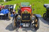 Oldtimer car rally — Stok fotoğraf