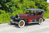 Oldtimer auto rally — Stock fotografie