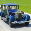 Oldtimer car rally — Stock Photo