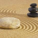 japanischer Zen-Garten — Stockfoto