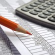 Business finance calculation — Stock Photo