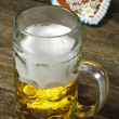 Bavarian lager beer — Stock Photo
