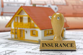 Insurance for residential house — Stock Photo