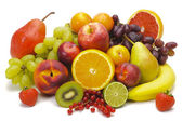 Fresh mixed fruits — Stock Photo