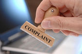 Complaint — Stock Photo