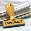 Stock Photo: Compliance and regulation