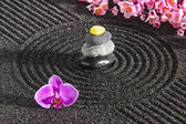 Japanese zen garden — Stock Photo