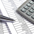 Finance business calculation — Stock Photo