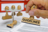 Guidelines — Stock Photo