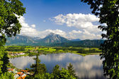 Panorama landscape in Bavaria — Stock Photo
