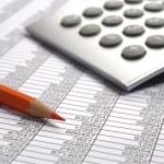 Business finance calculation — Stock Photo #48478127