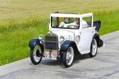 Rali para carros veteranos — Fotografia Stock