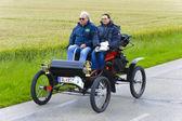 Rally de coches antiguos — Foto de Stock