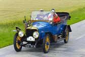 Rally for veteran cars — Stockfoto