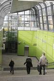 Moscow. The vestibule underground station — Stock Photo