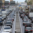 Moscow. Day traffic jam — Stock Photo #18946921