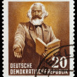Post stamp of the German Democratic Republic — Stock Photo