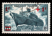 Post stamp of France — Stock Photo