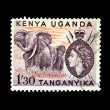 Post stamp of Kenya — Stock Photo