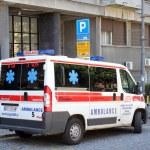 Ambulance car in Belgrade, Serbia — Stock Photo #36360193