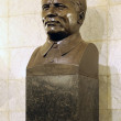 Stock Photo: Moscow. Sculpture of killed communist Sergey Kirov int underground station