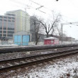 Stock Video: Commuter train-express going to Moscow
