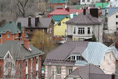 Covers of Voronezh houses — Stock Photo