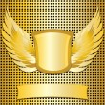 Classic style metallic emblem — Stock Vector #12635200