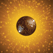 Mirror disco ball vector — Stock Vector