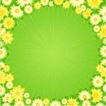 Elegance seamless flowers — Stock Vector