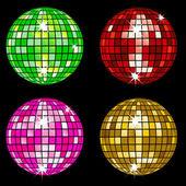 Disco balls 2 — Stock Vector