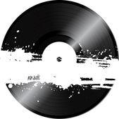 レトロなビニール レコード - ベクトル — ストックベクタ
