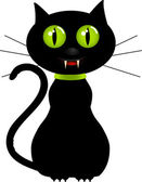 Vector illustration of cat — Stock Vector