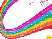 Rainbow abstract vector — Stock Vector