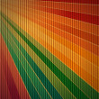 Stock Photo: Rainbow corrugated cardboard background
