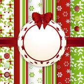 Vánoční šrot knihy cetka pozadí — Stock vektor