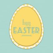 Easter vintage background — Stock Vector
