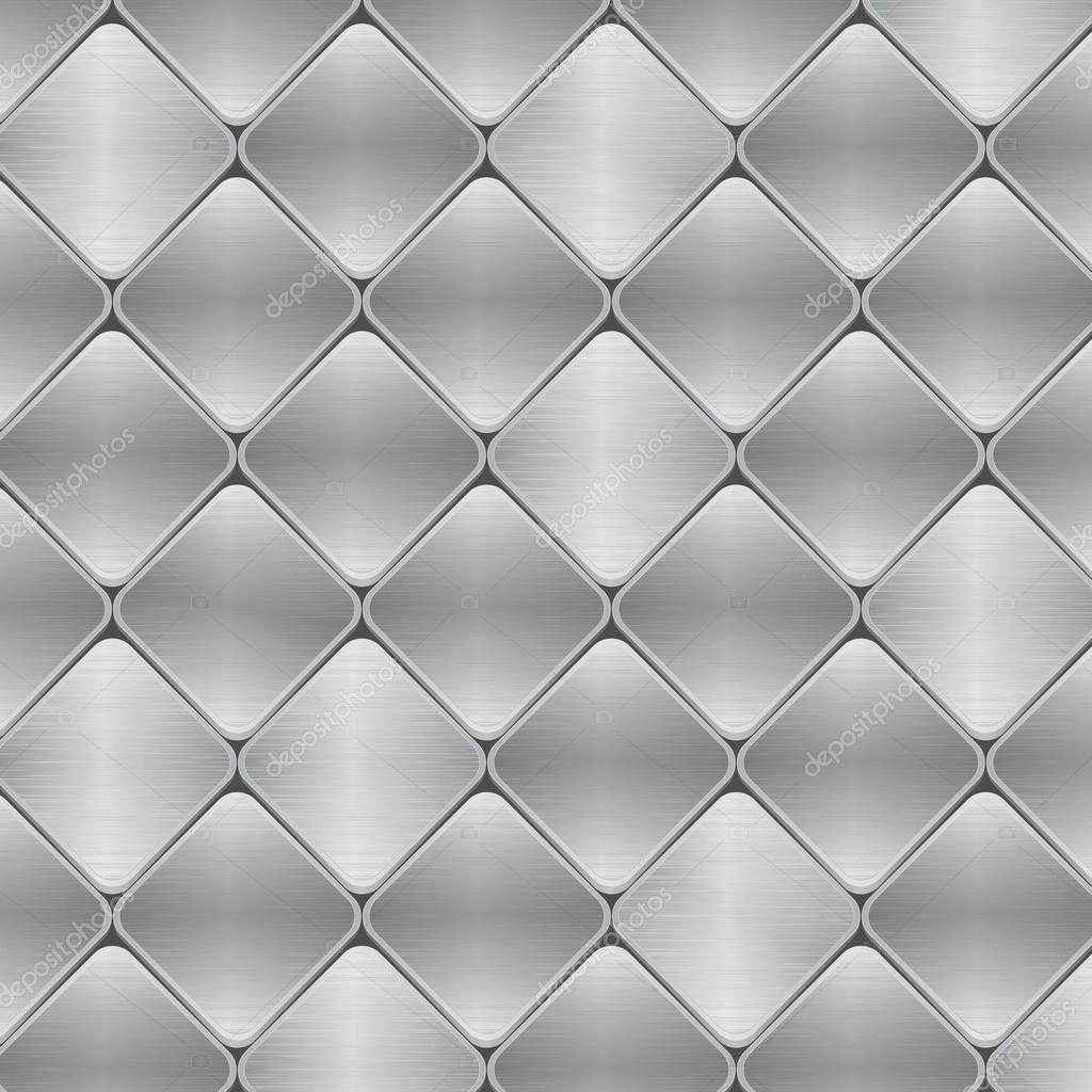 拉丝金属马赛克瓷砖背景