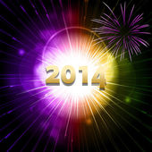 New year firework2 — Vector de stock
