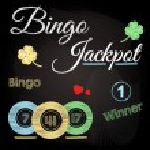 Bingo chalkboard — Stock Vector #47392325
