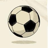 Schizzo di calcio — Vettoriale Stock