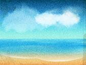 Ocean view canvas — Wektor stockowy