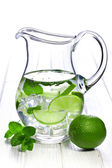 Pitcher of lemonade — Stockfoto